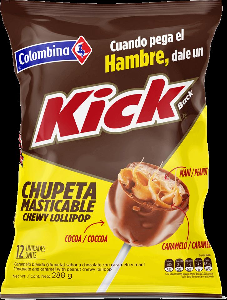 Chupeta Kick Masticable 288 g