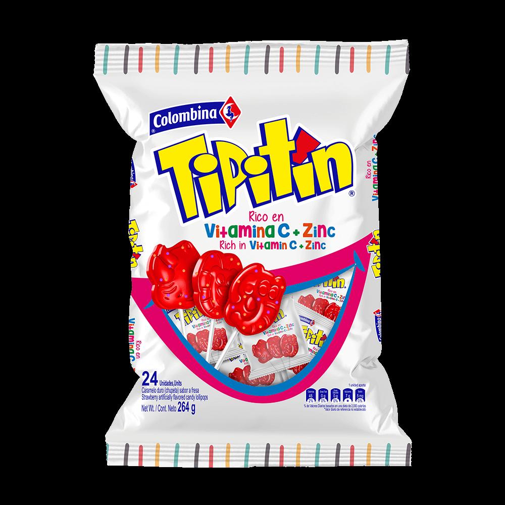 Tipitín Vitamina C + Zin  x 24 264g