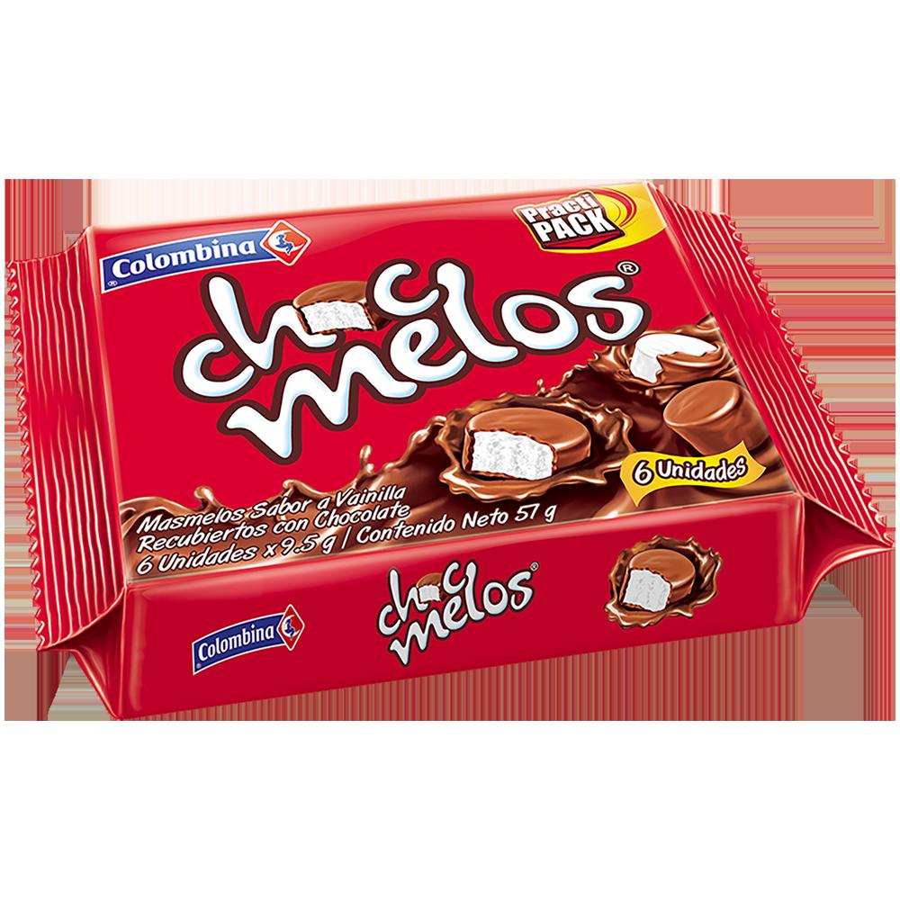 Chocmelos Bandeja x 6 UN