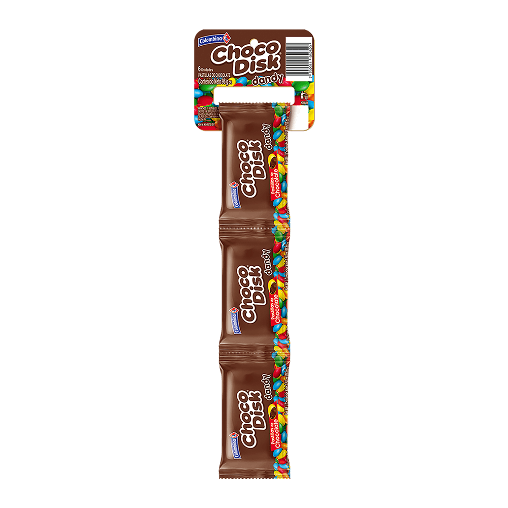 Dandy Chocodisk  x 6 UN