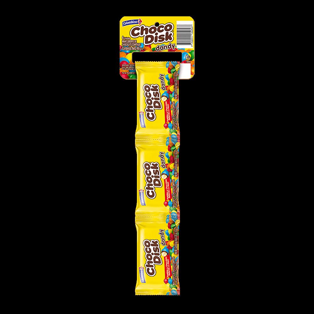 Dandy Chocodisk Maní x 6 UN