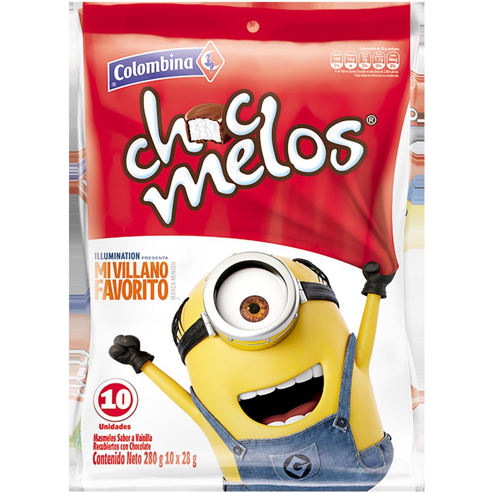 Chocmelos Minions BS x 10 UN