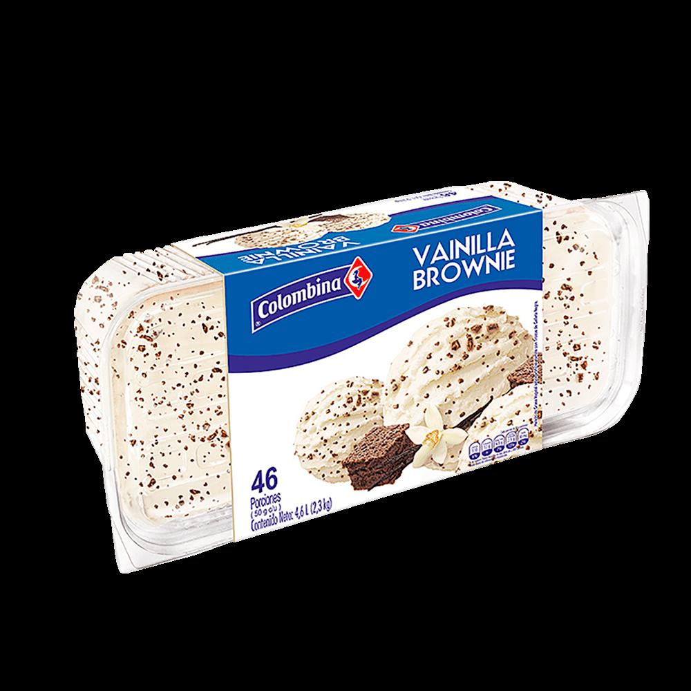 Helado Vainilla Brownie Bandeja