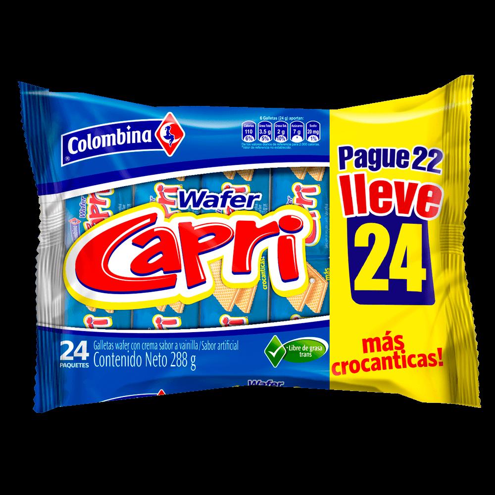 Capri Vainilla 288 g