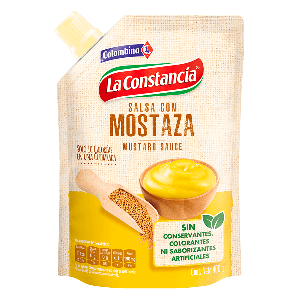 Salsa con Mostaza 400 g