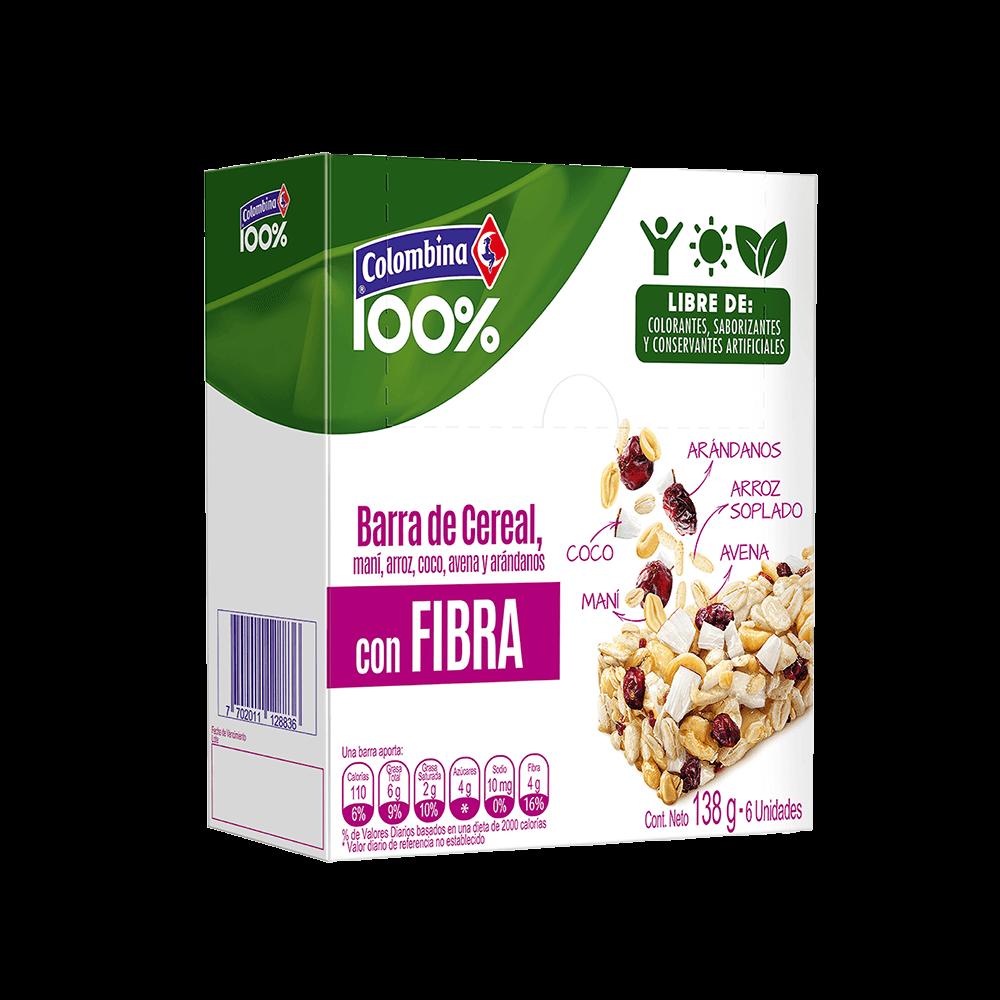 Barra de Cereal Fibra 138g