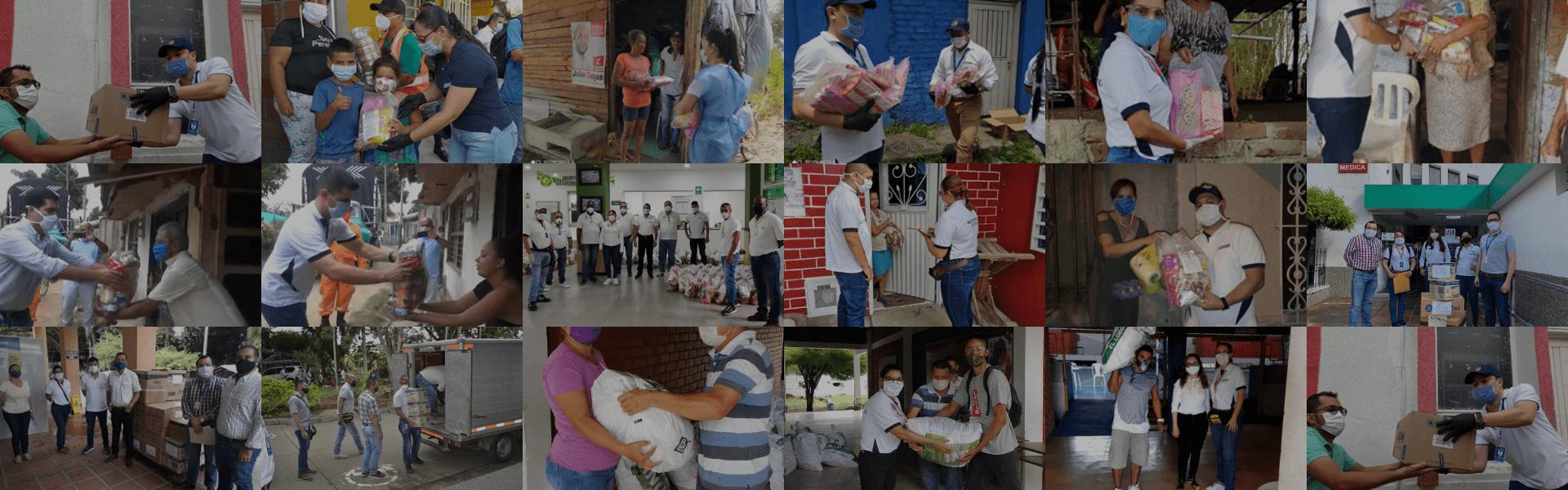 Colombina ha entregado más de 12.000 mercados y más de 7.600 kits nutricionales para afrontar la crisis