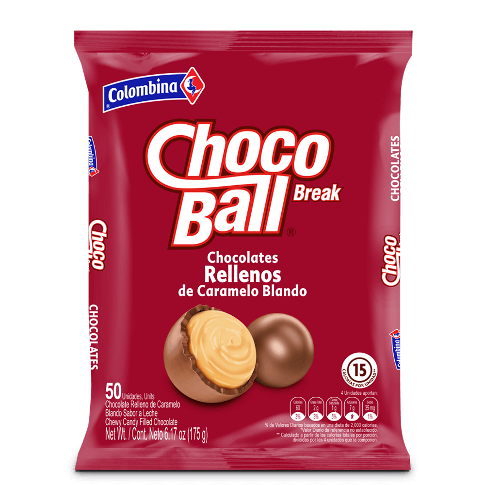 ChocoBreak Ball x 50 UN