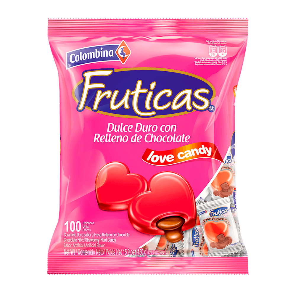Fruticas Love Candy 100 uds