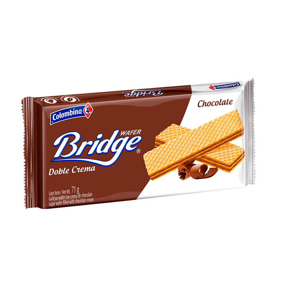 Bridge Minitaco Chocolate 71 g