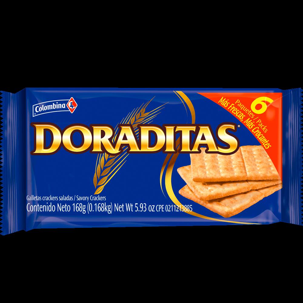 Crakeñas Doraditas 6 uds