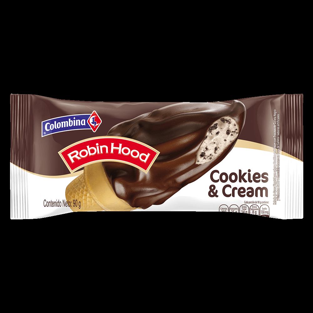 Cono Cookies & Cream