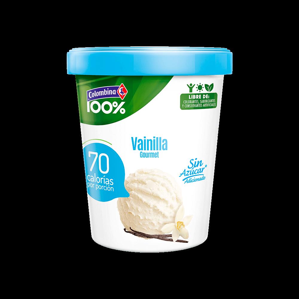 Helado de vainilla sin azúcar 300 g