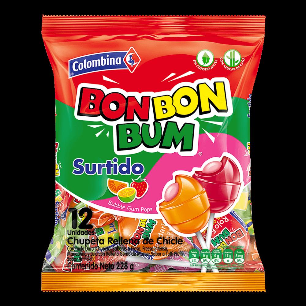 Bon Bon Bum Surtido x12 228 g