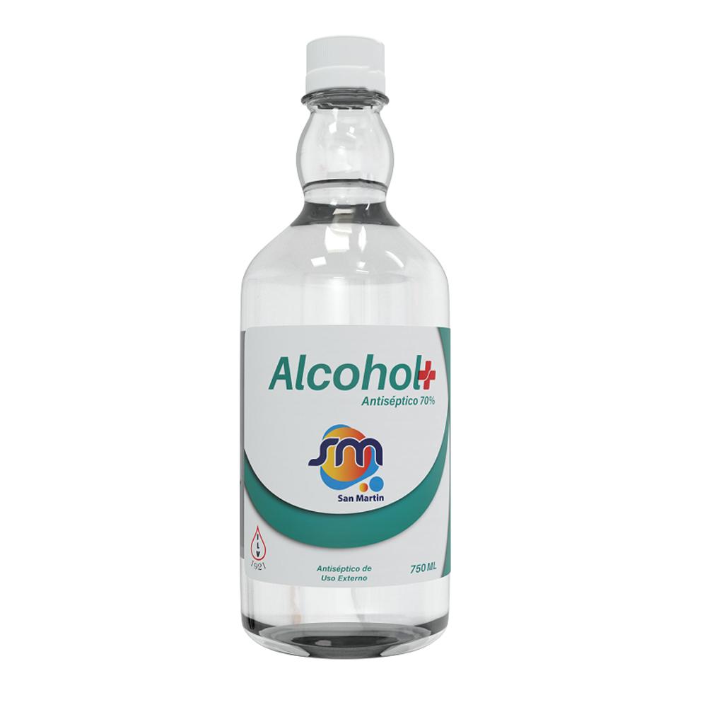 Alcohol antiseptico San Martin 750 ml