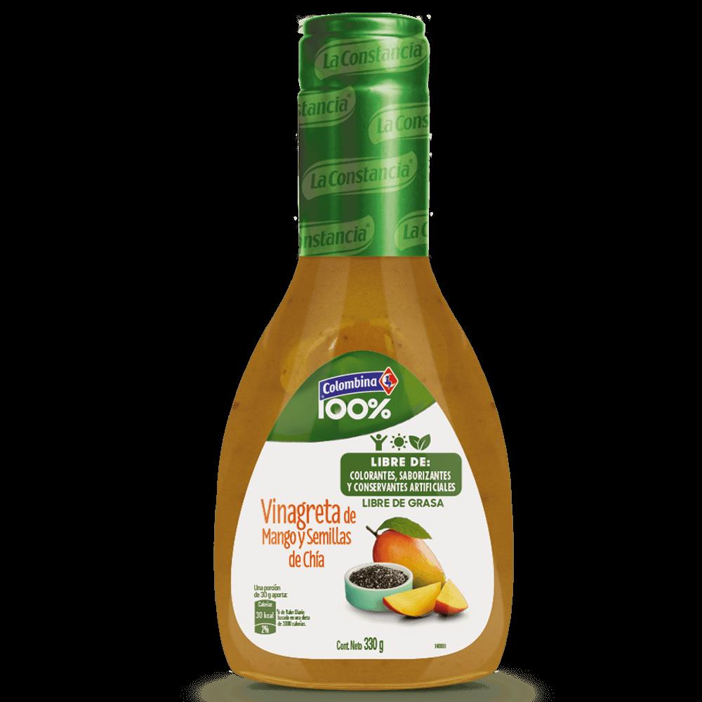 Vinagreta de Mango y Semillas de Chía 330 g