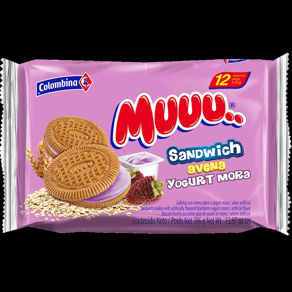 Muuu Cremada Yogurt Mora 396 g